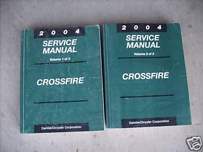 Chrysler crossfire workshop manual array 2004 chrysler crossfire 2004 service manual volumes 1 u0026 2 rh 4x4icon com fandeluxe Images