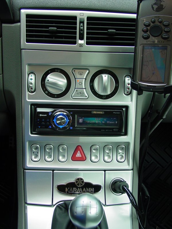 2004 chrysler crossfire pioneer cd ib100ii ipod adapter