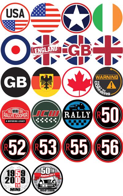 2006 MINI Cooper - Badges