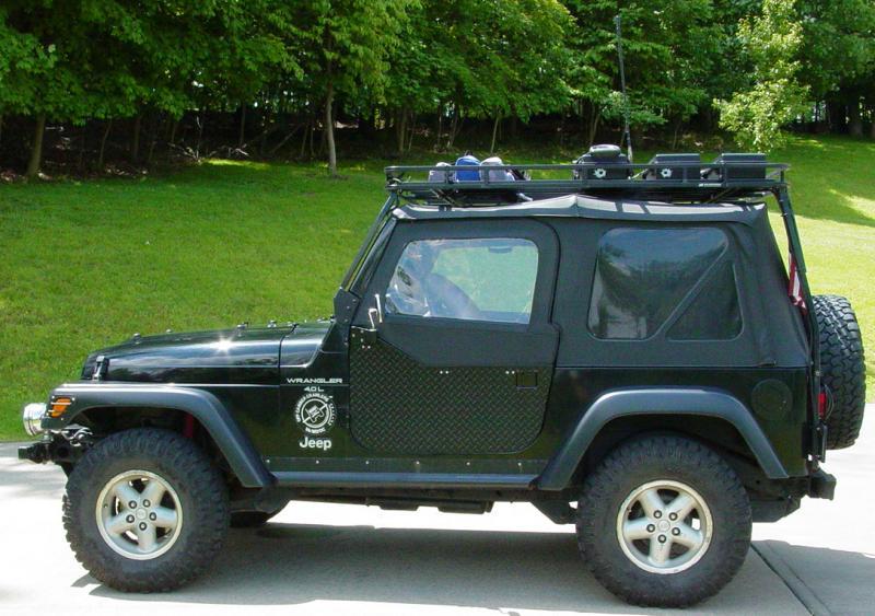 4x4 Icon Jeep Half Doors