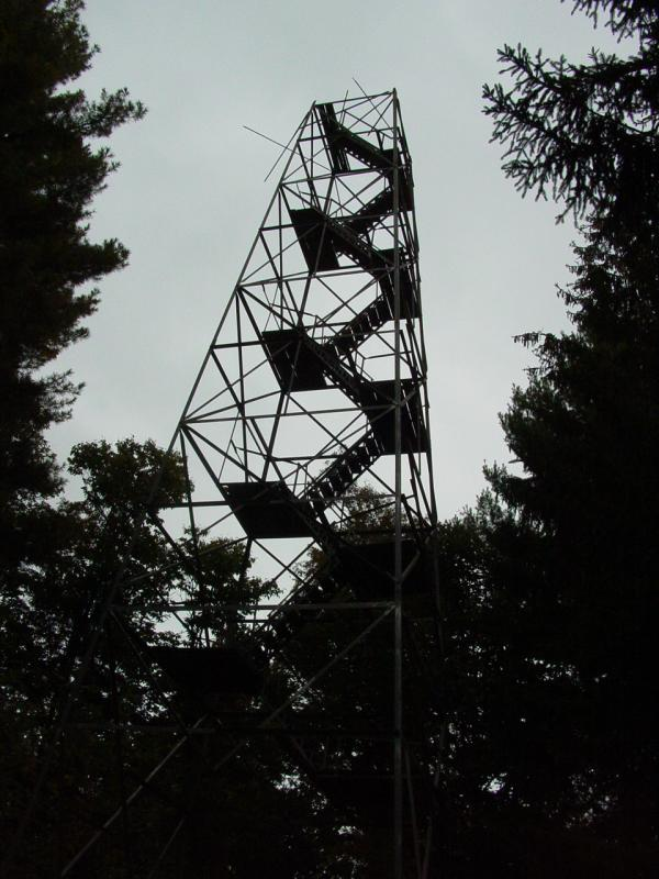 4x4 icon big mountain fire tower. Black Bedroom Furniture Sets. Home Design Ideas