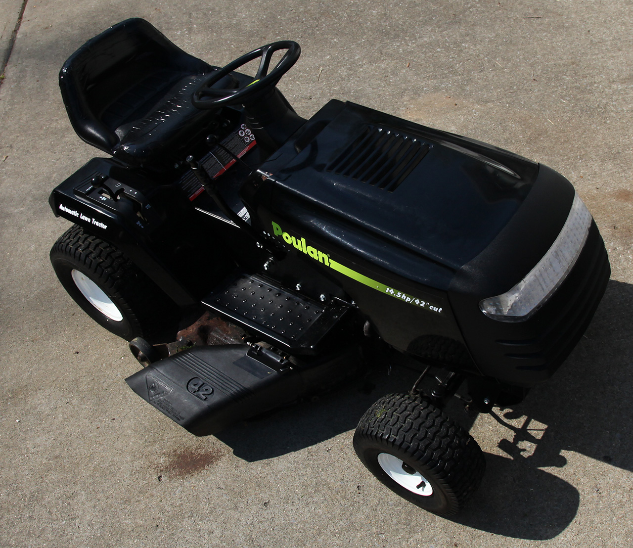 1280 x 1108 · 566 kB · jpeg, Return to Poulan 14.5 HP Lawn Tractor ...