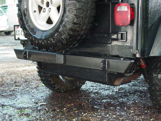 Competition 4x4 - Heavy Duty Rear Bumper