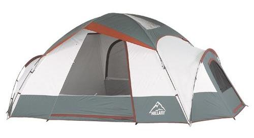 Hillary 7 Person Sequoia 3 Room Dome Tent  sc 1 st  4x4 Icon : hillary tent replacement parts - memphite.com