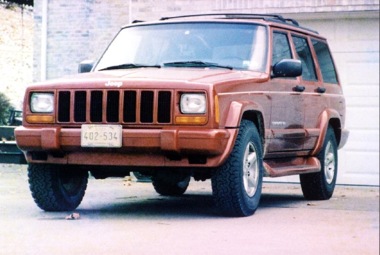 Jeep Build Sheet >> 4x4 Icon 1998 Jeep Cherokee Limited Build Sheet
