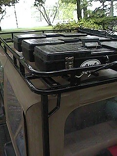 4x4 Icon Garvin Wilderness Roof Rack